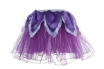 Douglas Cuddle Toys Dark Purple Tutu / Light Purple Petals - Xs (50403)