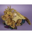 Douglas Cuddle Toys Topaz Gold Dragon (728)
