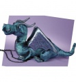 Douglas Cuddle Toys Jade Blue Dragon (729)