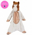 Douglas Cuddle Toys Cream/Brown Horse Sshlumpie (1463)