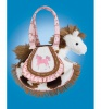 Douglas Cuddle Toys Kicky Boots Tote W/horse (2100)