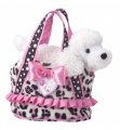 Douglas Cuddle Toys Frilly Spots Tote W/poodle (2147)
