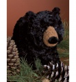 Douglas Cuddle Toys Charcoal Black Bear (3768)