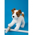 Douglas Cuddle Toys Feisty Jack Russell (4020)