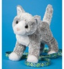 Douglas Cuddle Toys Scatter Gray Cat (4023)