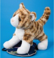 Douglas Cuddle Toys Sadie Tiger Stripe Cat (4025)