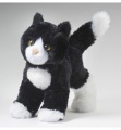 Douglas Cuddle Toys Snippy Black/white Cat (4092)