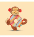 Douglas Cuddle Toys Playtivity Monkey Rattle (6026)