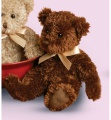 Douglas Cuddle Toys Fuzzy Chocolate Bear (12704)