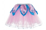 Douglas Cuddle Toys LIGHT PINK TuTu / Aqua Blue Petals  - M (50457)