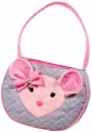 Douglas Cuddle Toys Madeline PINK/GRAY MOUSE BAG* (1105)