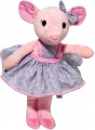Douglas Cuddle Toys Madeline PINK/GRAY MOUSE-* (2354)