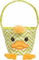 Douglas Cuddle Toys Zig Zag GREEN/YELLOW DUCK TOTE* (709)