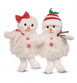 Douglas Cuddle Toys Snow Girl Puff Snowman (690)