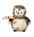Douglas Cuddle Toys Hedgehog Delight W/red, Wht & Lime Grn Scarf (654)